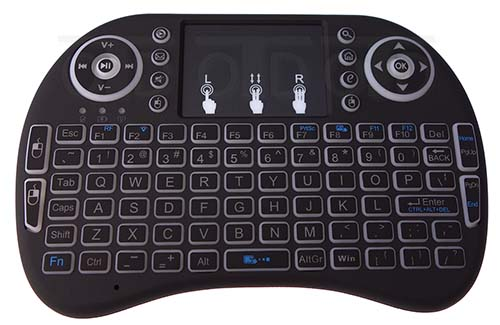 MINI WIRELESS KEYBOARD MOUSE REMOTE