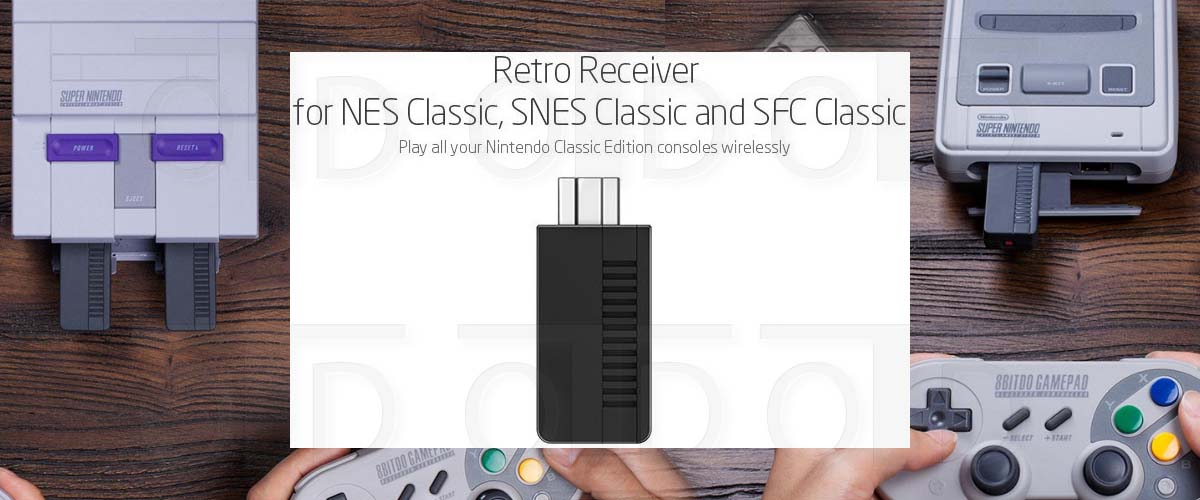 8BITDO RETRO RECEIVER